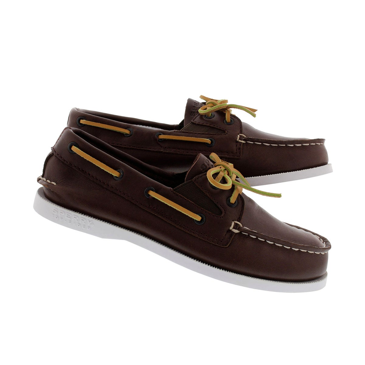 Chaussure bateau brun A/O SLIP ON, gar