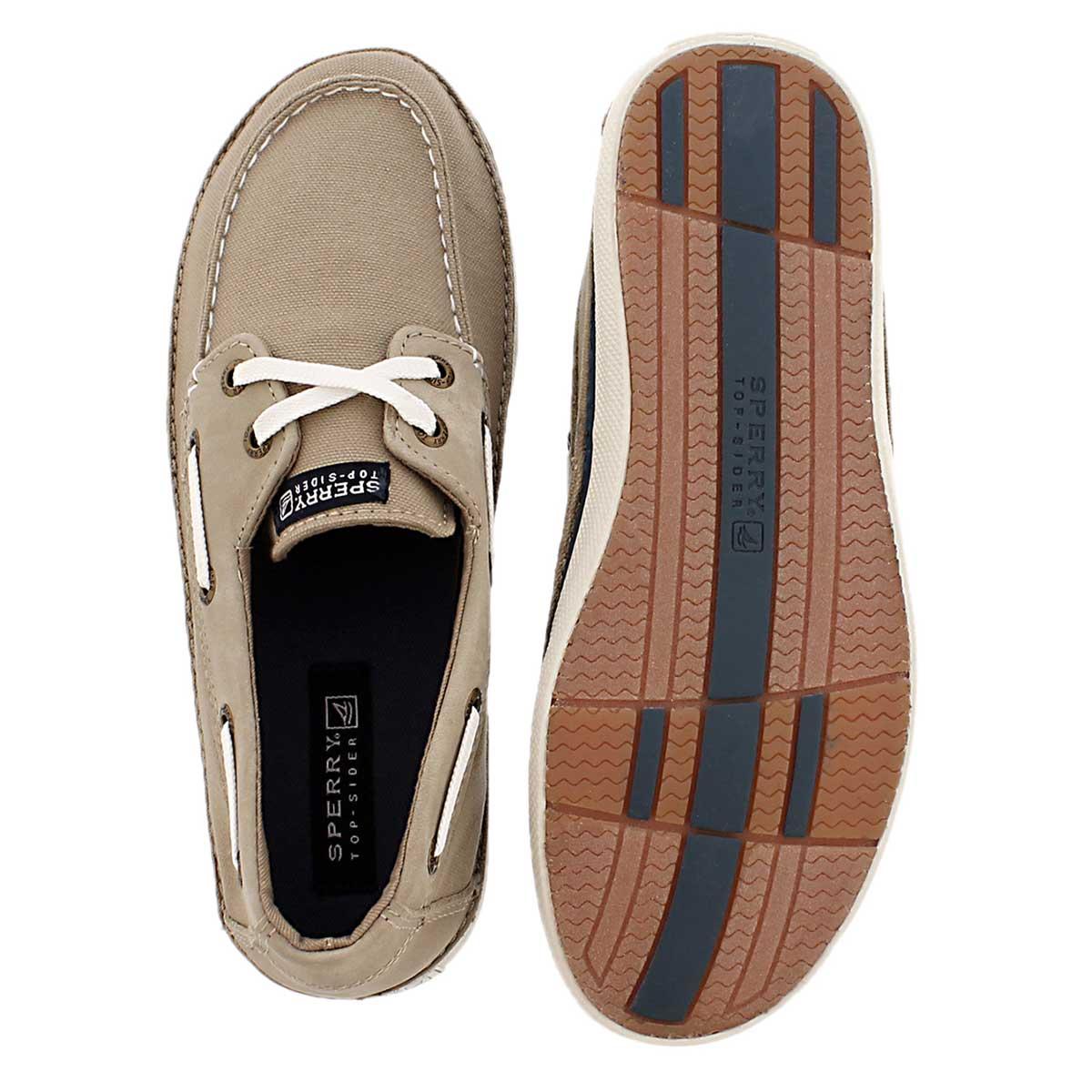 Chaussure bateau Cruz, kaki, gar�ons