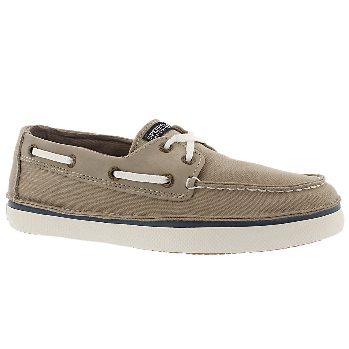 Bys Cruz khaki boat shoe