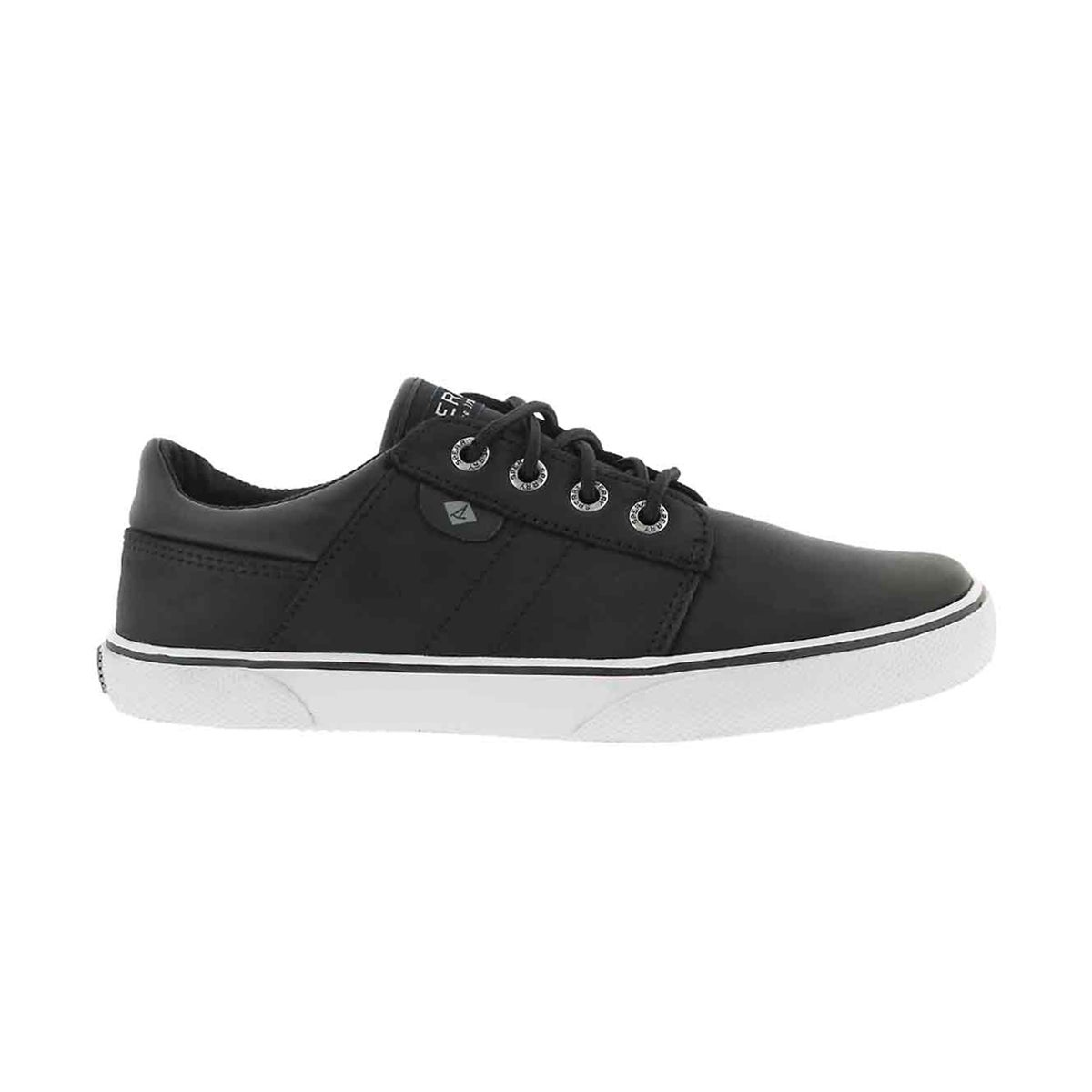Bys Ollie black lace up sneaker
