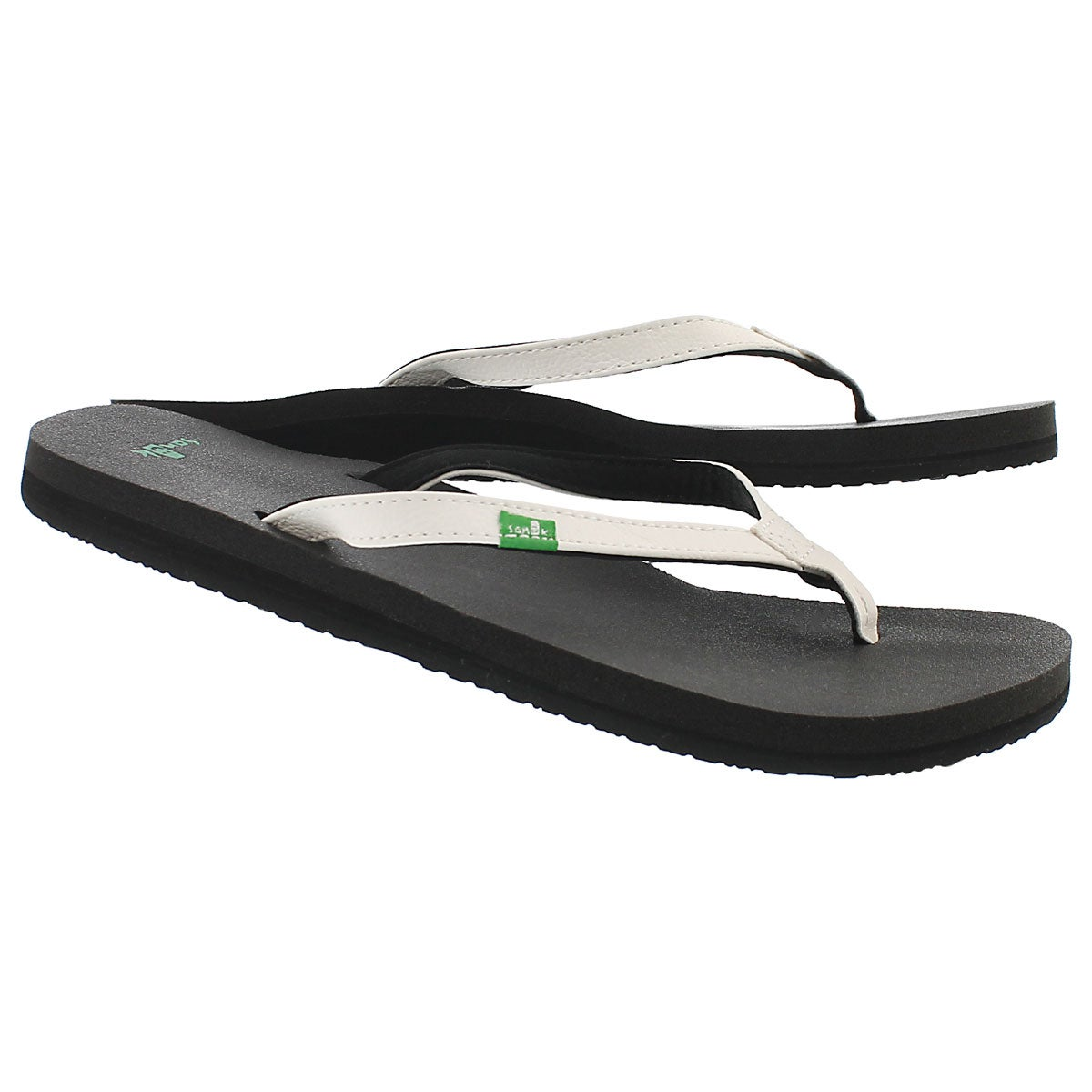 Lds Yoga Joy white flip flop