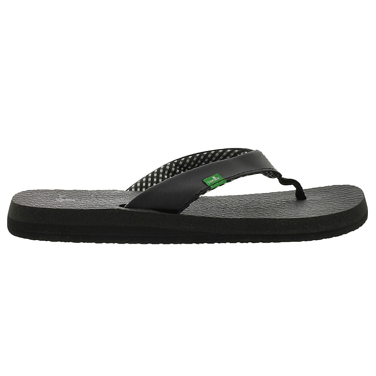 Sandales tongs Yoga Mat, ébène, femmes