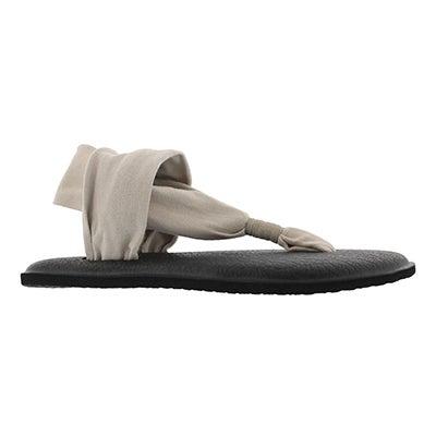 Lds Yoga Sling lt natural thong sandal