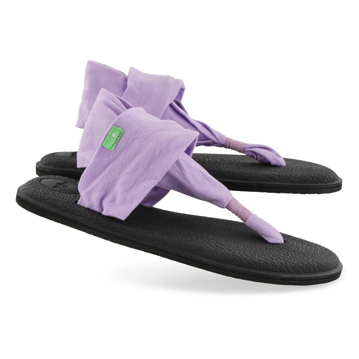 Lds Yoga Sling lavendula thong sandal