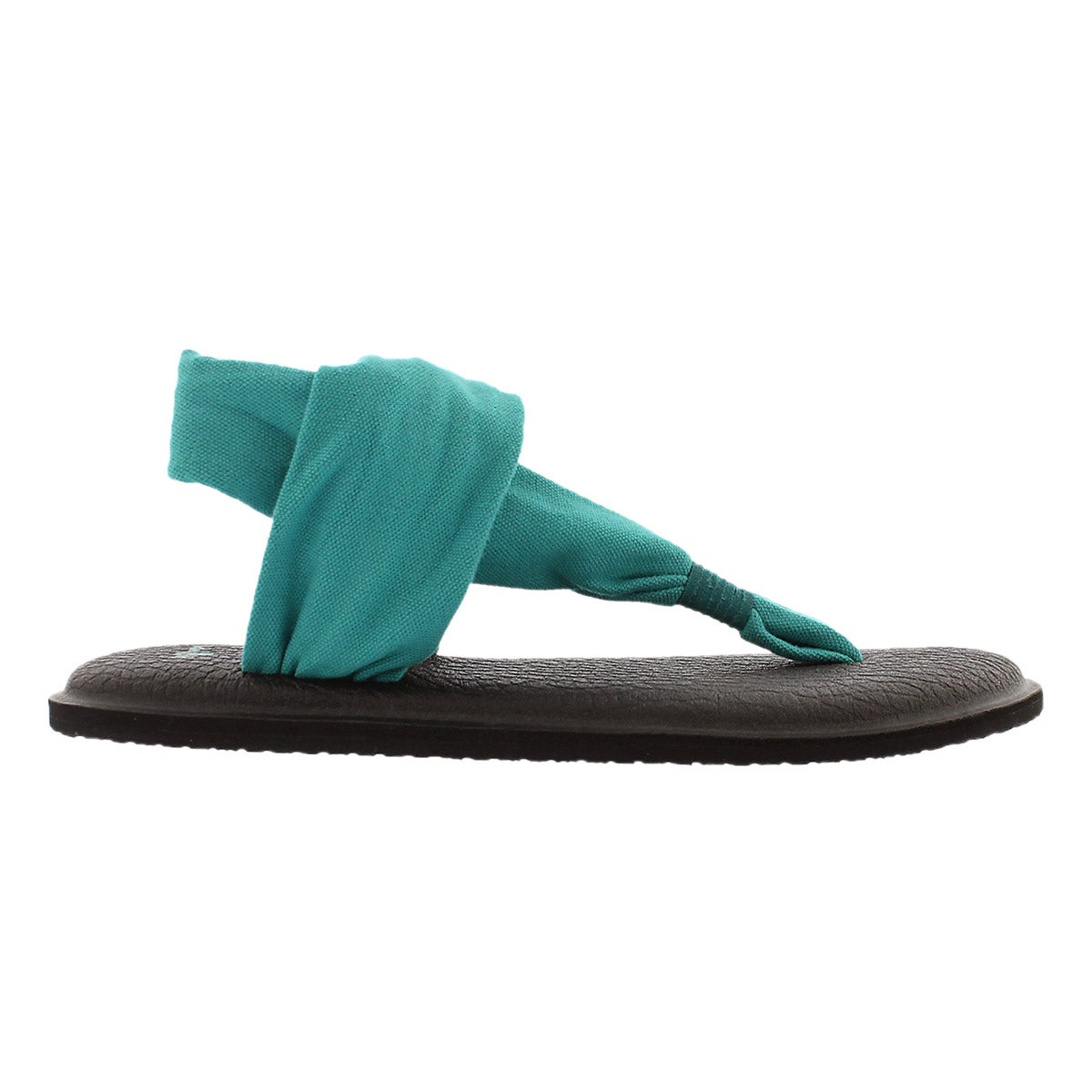 Sandale tong Yoga Sling, sarcelle, femme