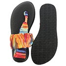 Sandale tong Yoga Sling, corail/mult, fe