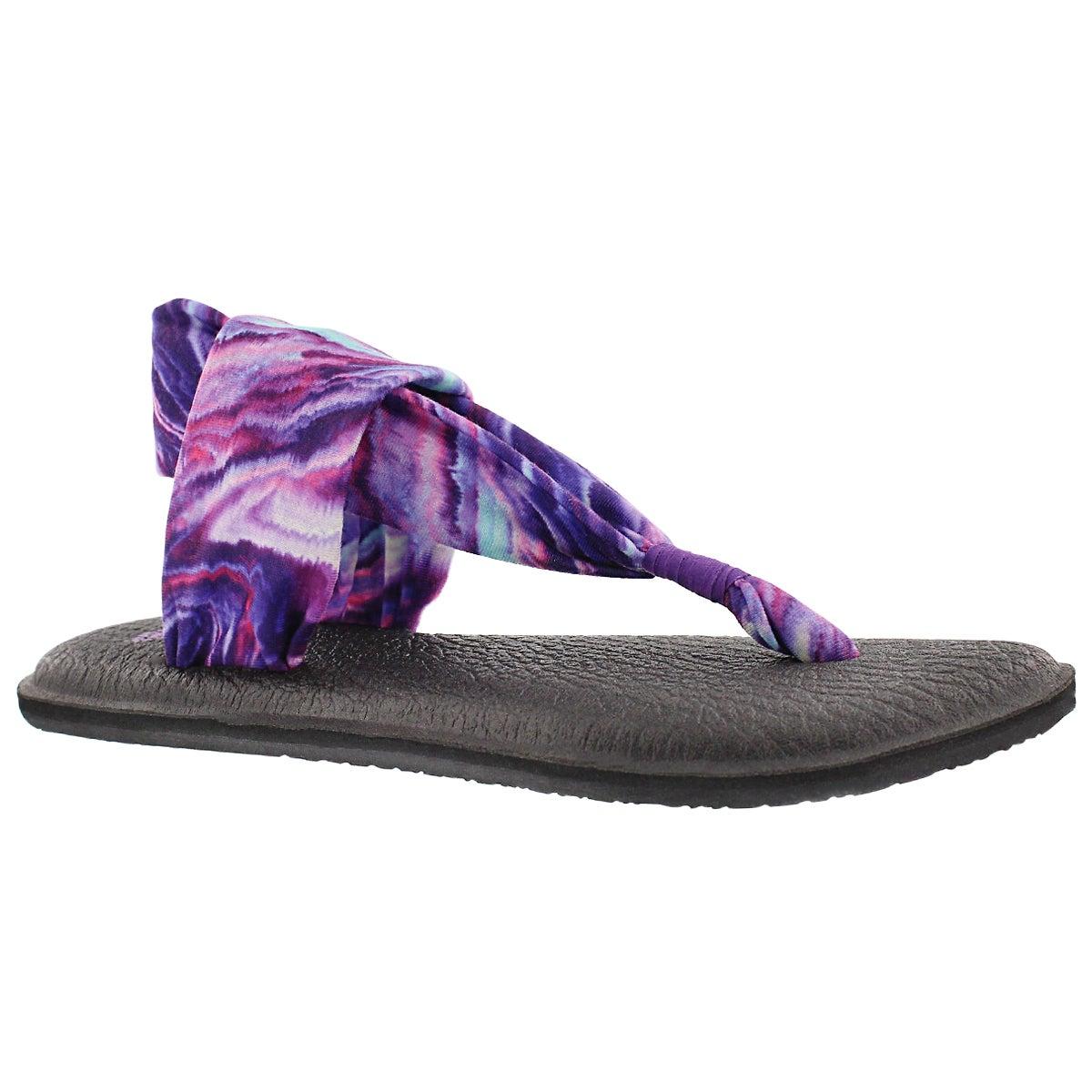 Sandale tong YOGA SLING, violet/bleu, fe