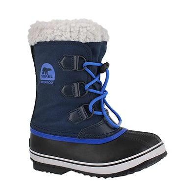 Bys Yoot Pac Nylon navy winter boot
