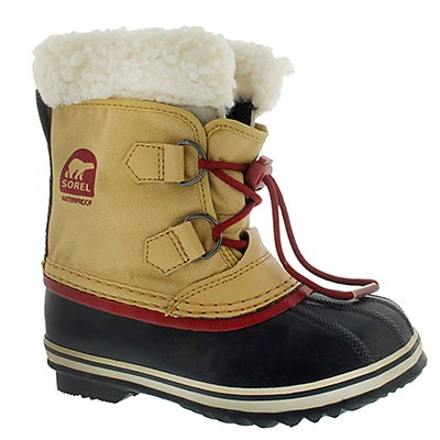 Sorel Girls' YOOT PAC NYLON curry winter boots
