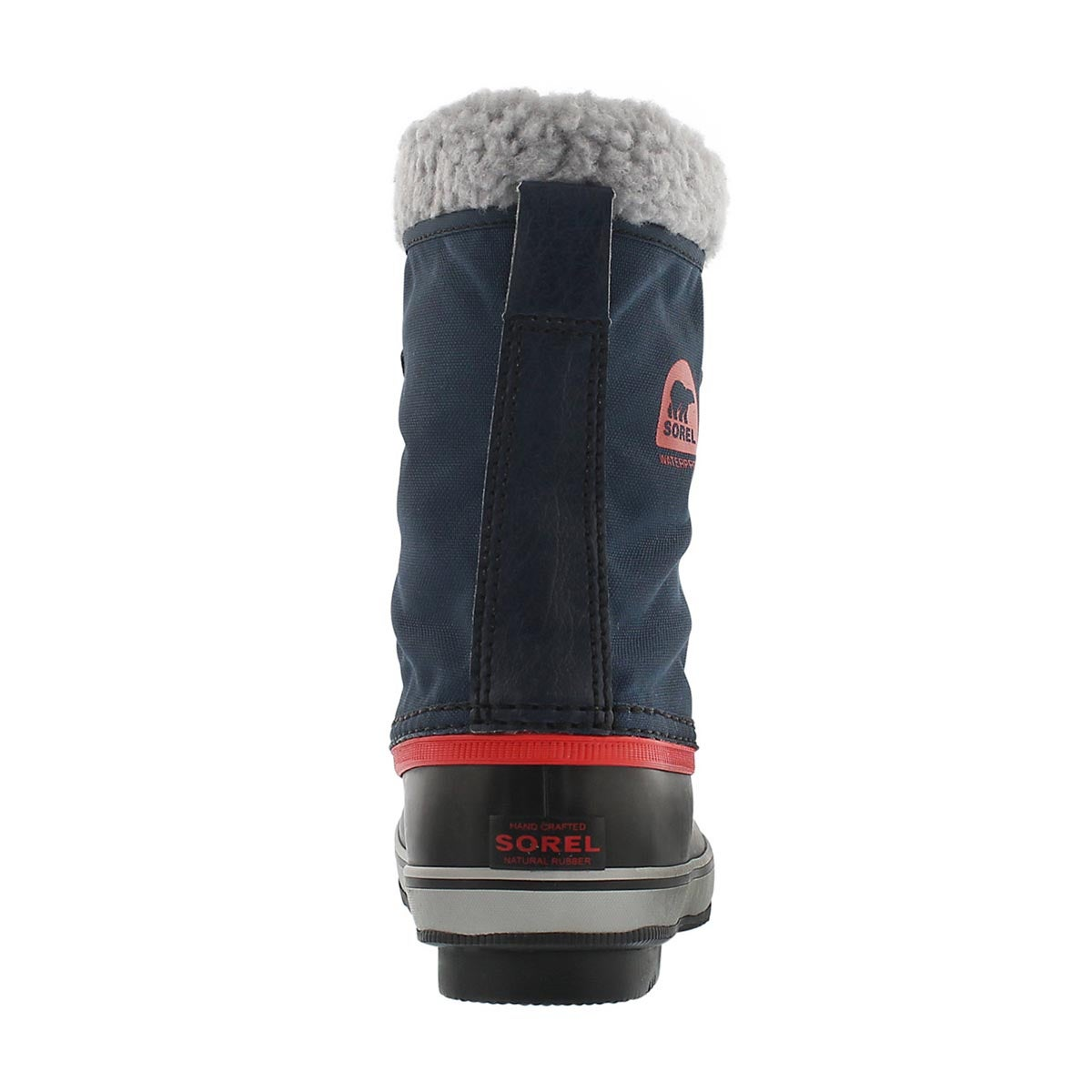 Grls Yoot Pac Nylon navy winter boot