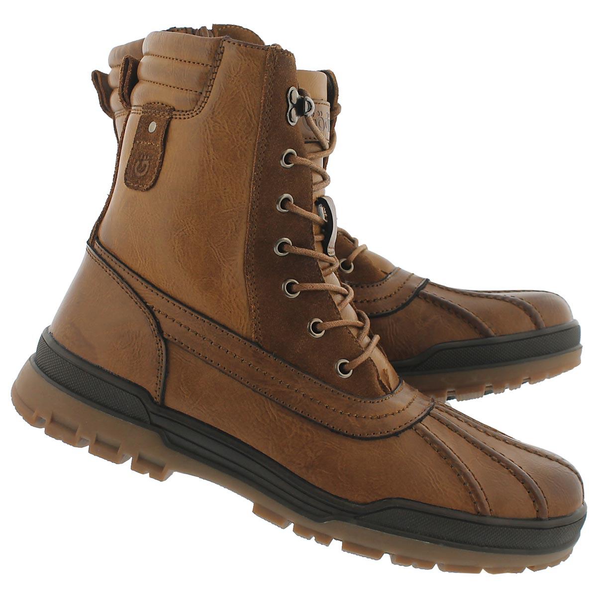 Mns York camel wtrpf winter boot