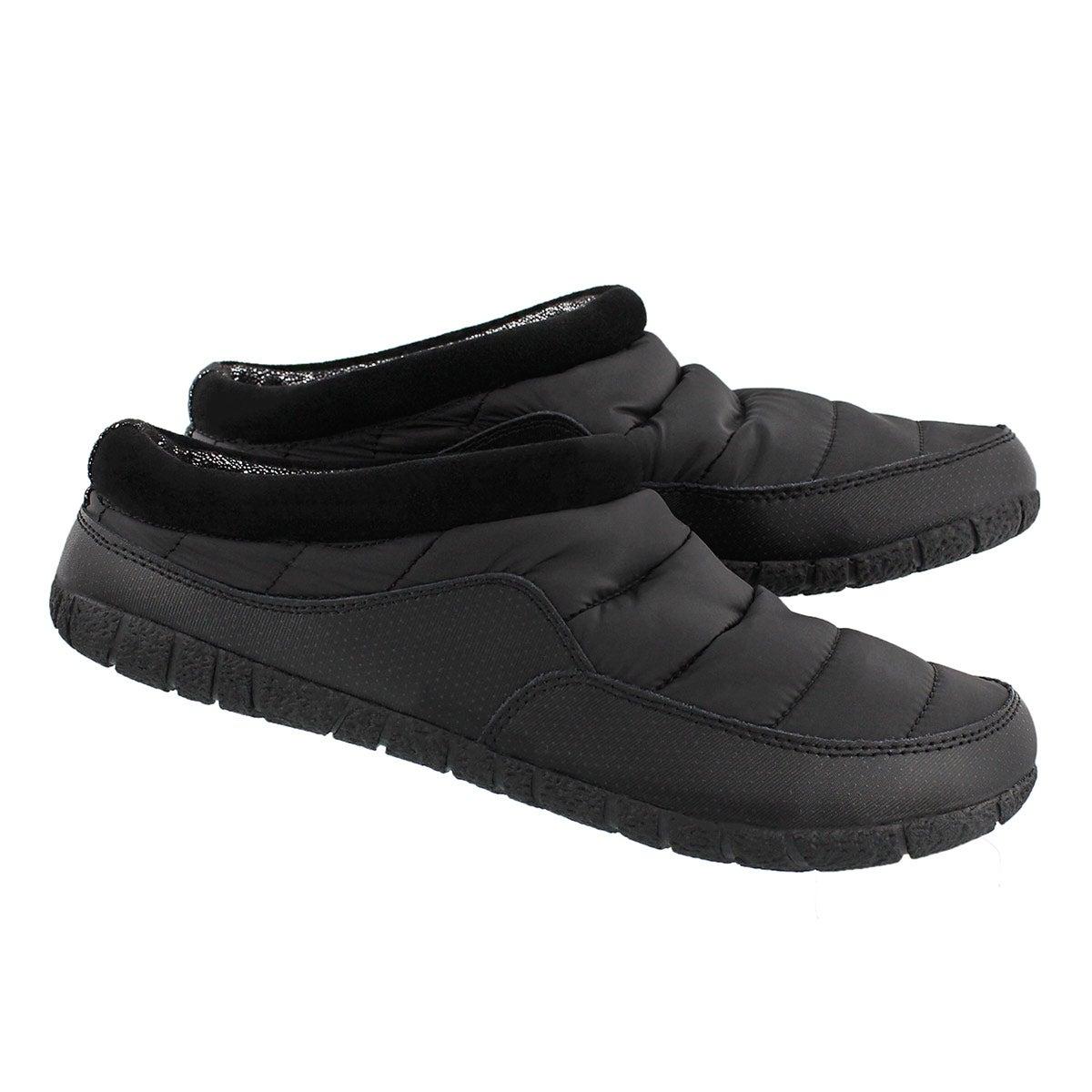 Mns Yukon black open back slipper