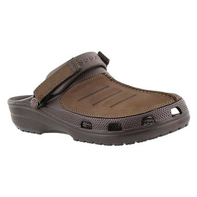 Crocs Men's YUKON MESA espresso clogs
