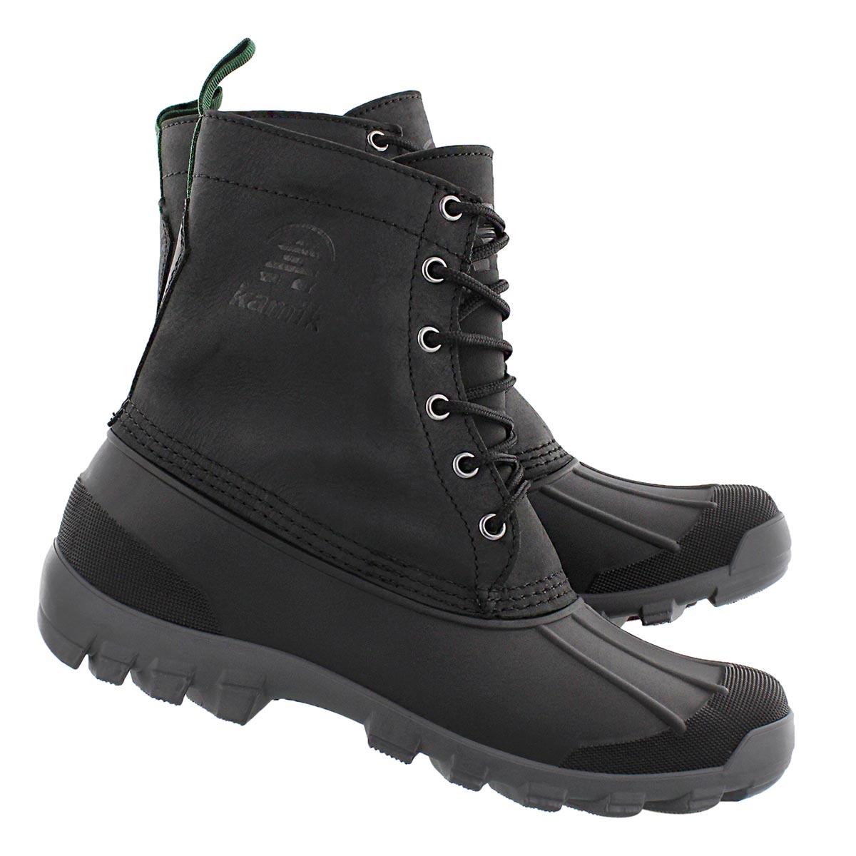 Mns Yukon6 black wtrprf winter boot