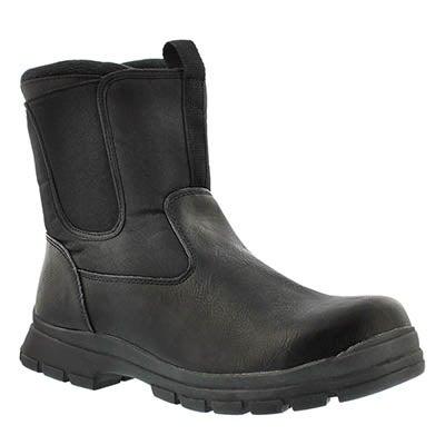 Cougar Men's ZAGO black waterproof winter boots