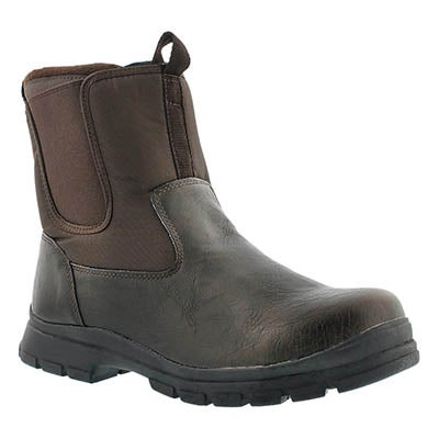 Cougar Men's ZAGO dark brown waterproof winter boots