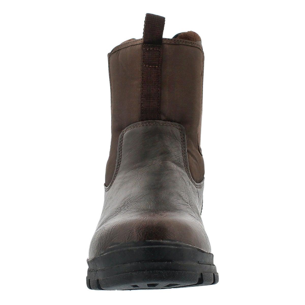 Mns Zago dk brn wtrpf winter boot