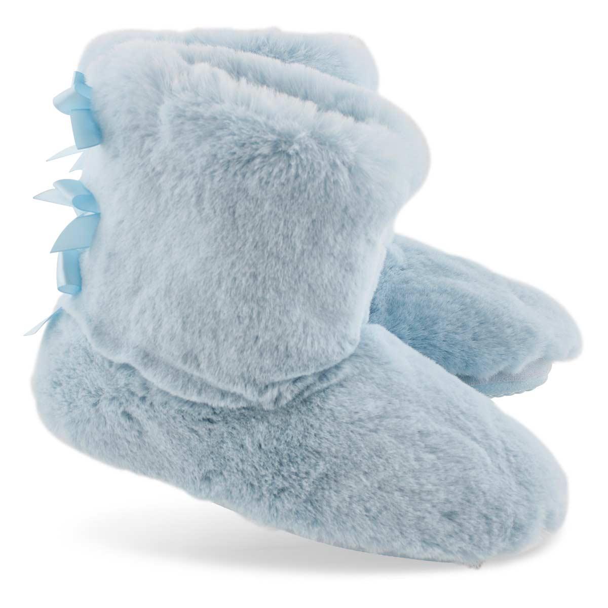 Botte-pantoufle Zippy2.0, bleu ciel, fem