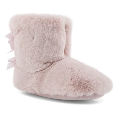 Botte-pantoufle Zippy2.0, rose, fem.