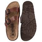 Mns Zonder tan cork footbed sandal