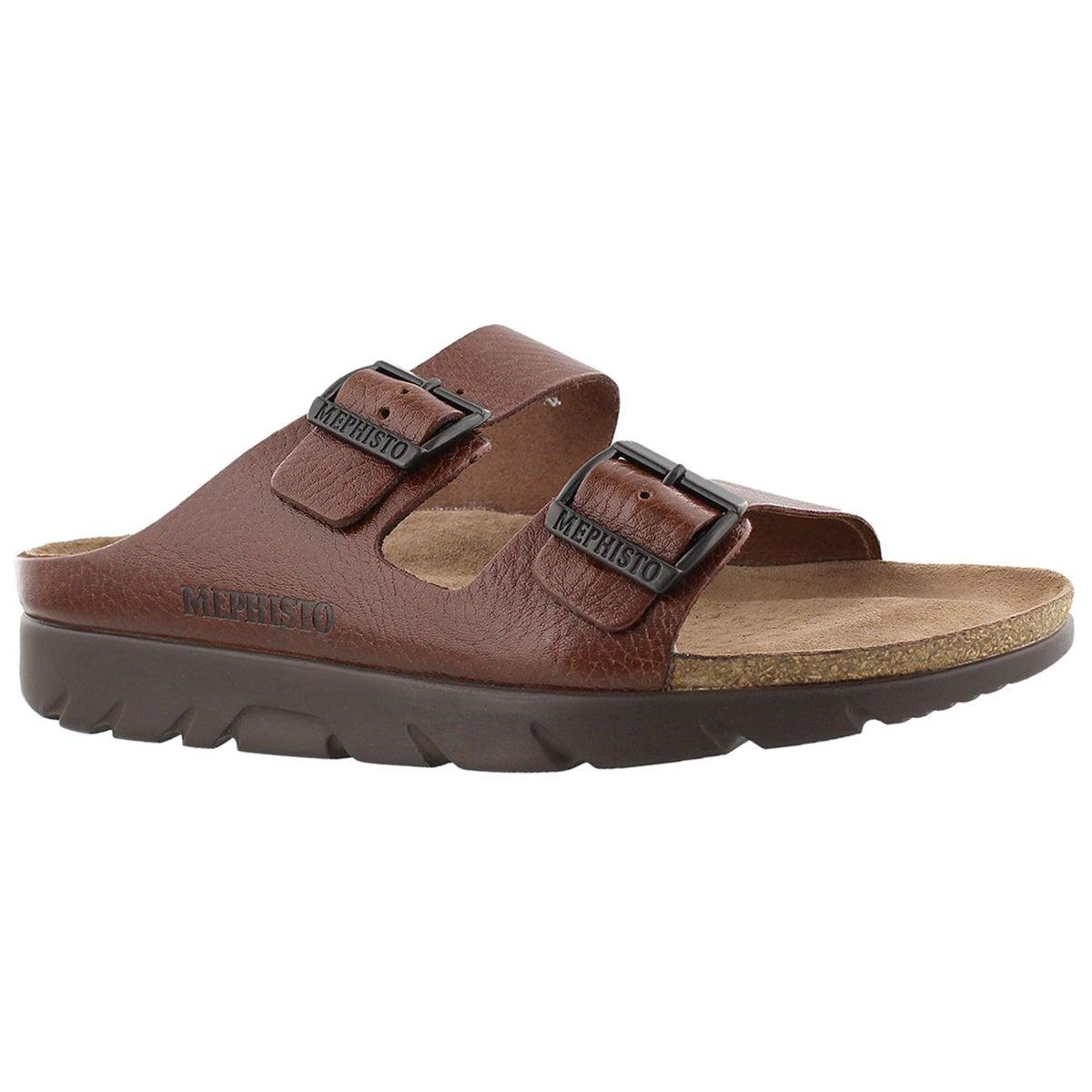 Men's ZONDER tan cork footbed sandals