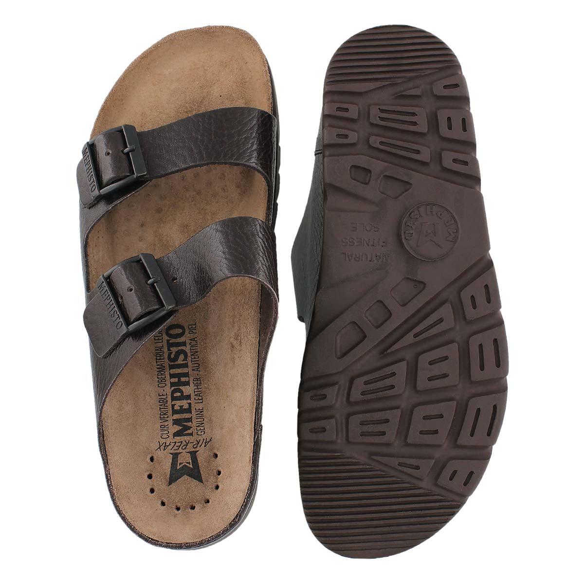 Sandale ZONDER, brun foncé, hommes
