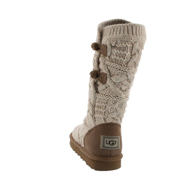 1d1d5401a0a Women's CLASSIC KALLA fawn cable knit boots
