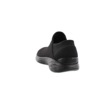 04daf431144d Skechers Women s YOU black slip on walking sh