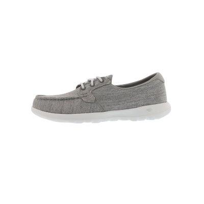 5de276f99bd71 Skechers Women's GO WALK LITE grey boat shoes | Softmoc.com