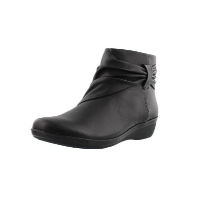Clarks Women S Everlay Mandy Black Ankle Boots