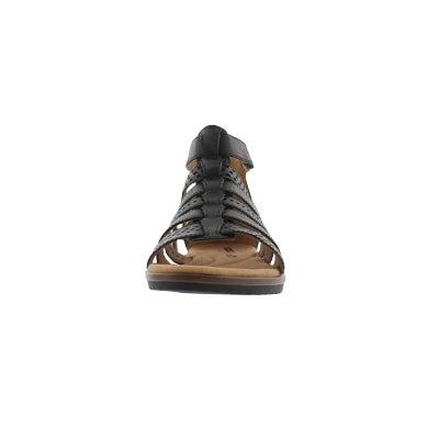 35fef5885cb Clarks Women s KELE LOTUS black casual sandal