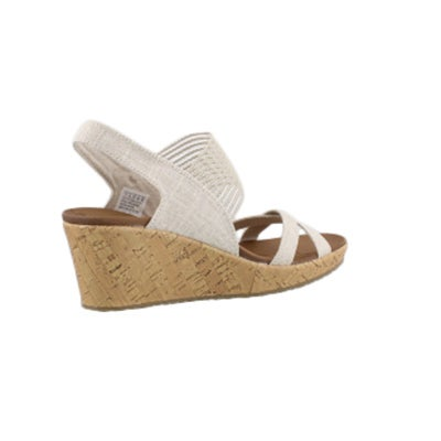 Skechers Womne S Beverlee High Tea Natural We Softmoc Com