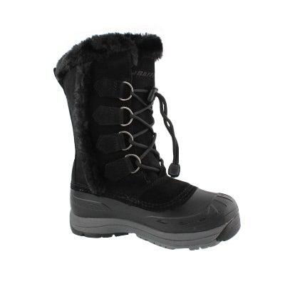 4350e835 Women's CHLOE black waterproof winter boots