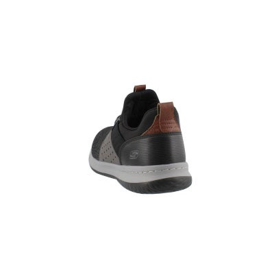 d27b72db6fdca Skechers Men's DELSON CAMBEN black/grey slip | Softmoc.com