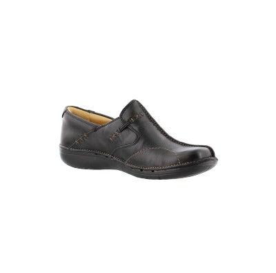 550fe24d Clarks Women's UN.LOOP black leather comfort   Softmoc.com