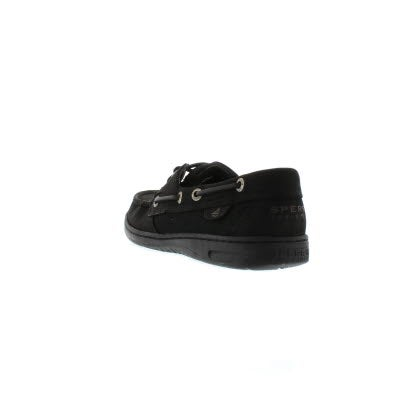 Chaussures bateau BLUEFISH, noir, femmes