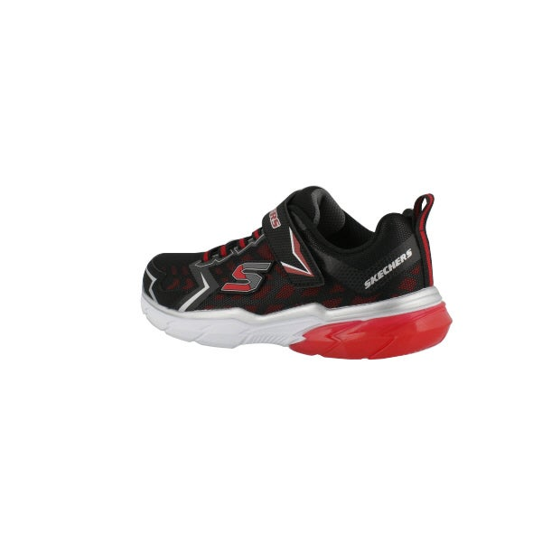 773e6a086986b8 Skechers Boys  THERMOFLUX NANO GRID black red