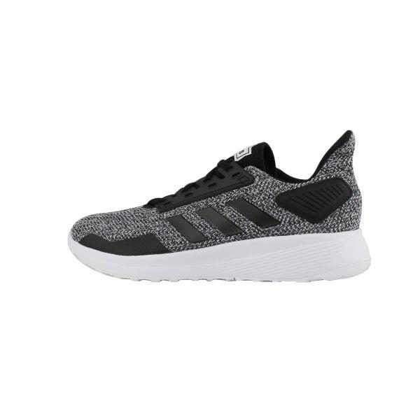 9b59a4d6fd1 adidas Men s DURAMO 9 black lace up sneakers