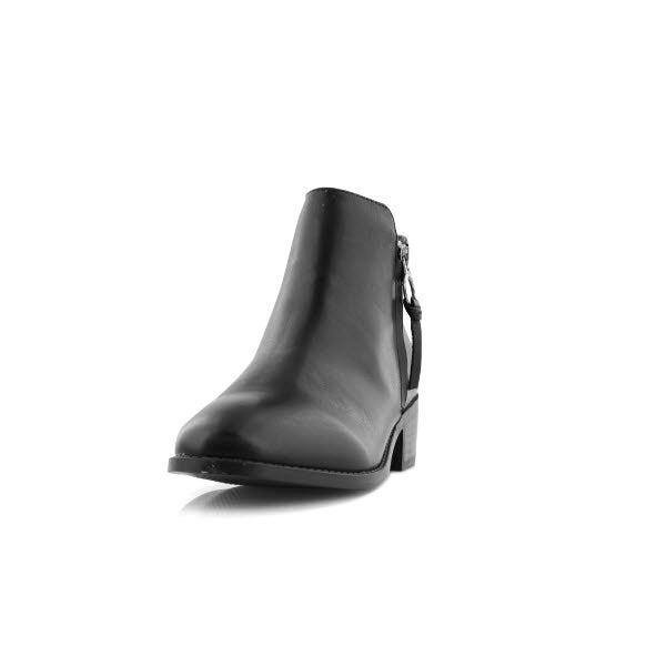 a34c5205b87 Steve Madden Women s DACEY black side zip ank