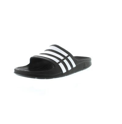 7b1f3488c0a5ae adidas Kids  DURAMO SLIDE black sandals