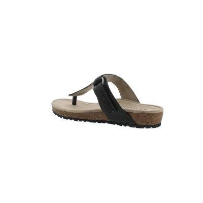 6afe6051c268 Taos Women s LOUISA black casual thong sandal