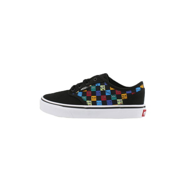 988dfff61d54d8 Vans Boys  ATWOOD monster checkers lace up sn