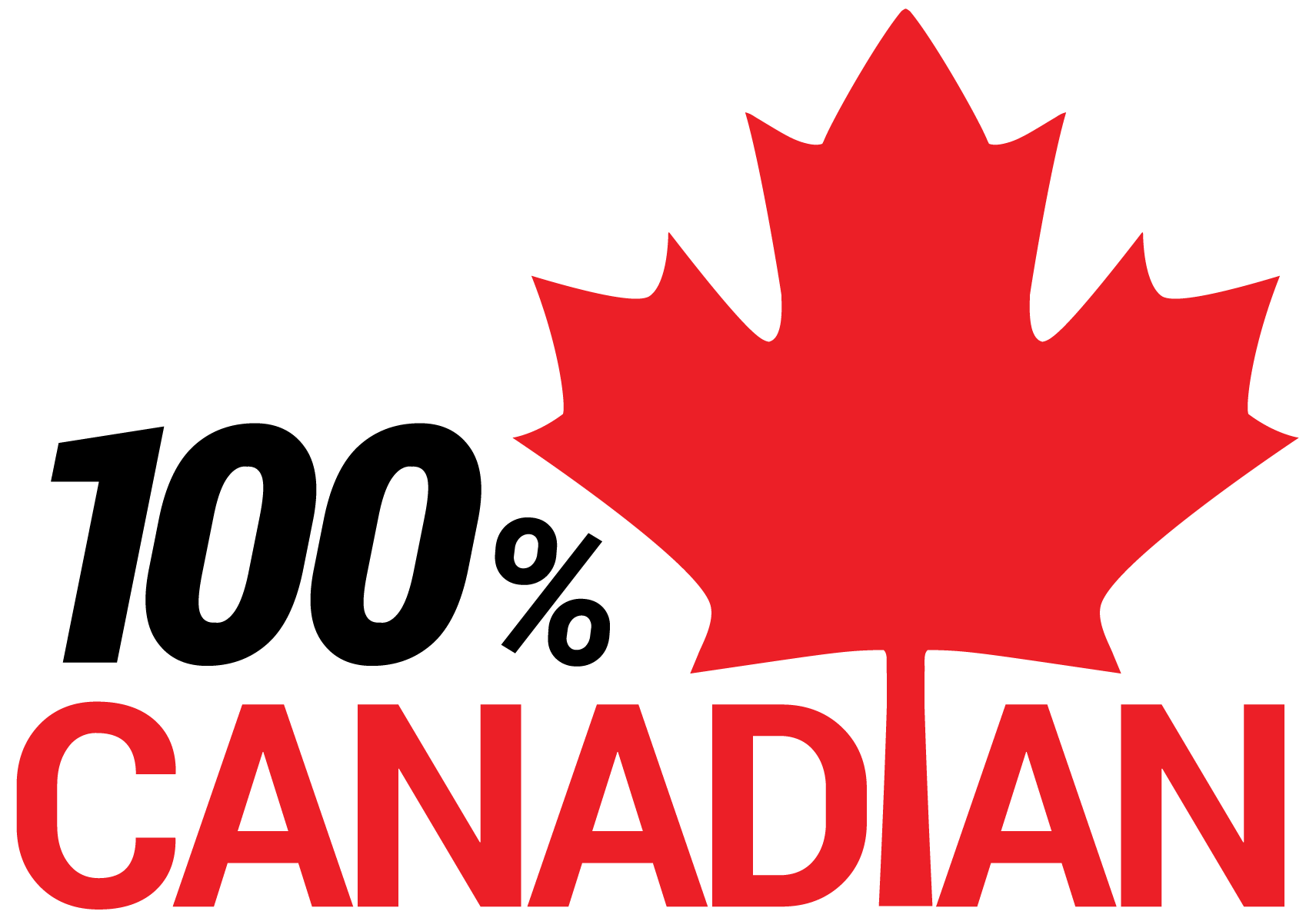 100% Canadian