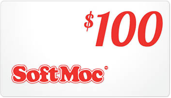SoftMoc $100 Gift Card