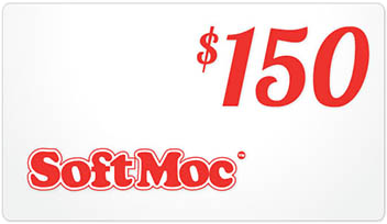SoftMoc $150 Gift Card