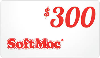 SoftMoc $300 Gift Card