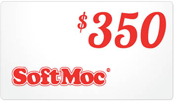 SoftMoc $350 Gift Card