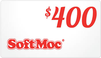 SoftMoc $400 Gift Card