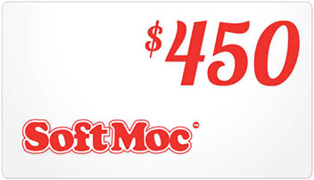 SoftMoc $450 Gift Card