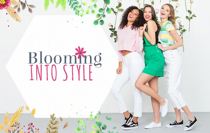 Blooming Into Style